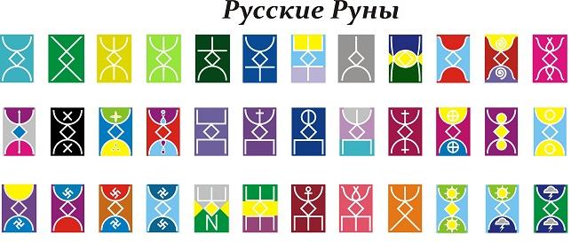 Картинки по запросу русские руны